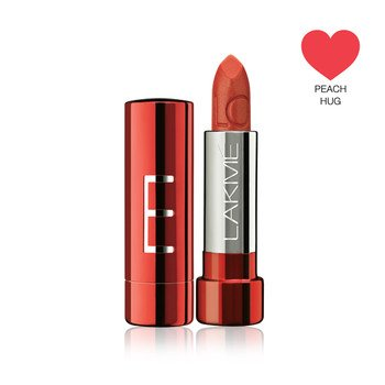 Lakme Lip Love Lipstck, Peach Hug, 3.5g