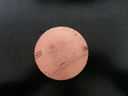 "Copper Round Disc 2/"" Dia 1//4/"" Thick"