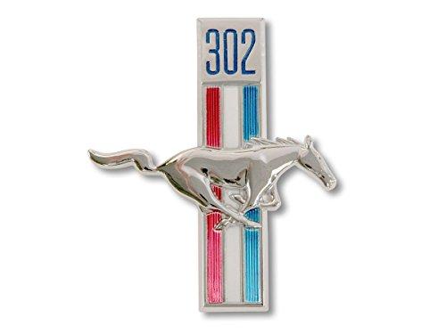 (Mustang Fender Emblem Running Horse RH 302 1968)