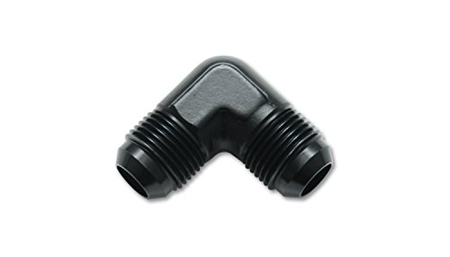 - Vibrant Performance 10551 Adapter Fitting (821 series Flare Union 90 Degree s; Size: -4 AN)
