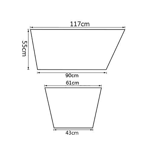 Double Non-inflatable Bathtub,Large Adult Bathtub,Collapsible Shower Bathtub,Plastic Bathtub With Cover,1176155cm WENJUN Folding Bathtub Color : Gray