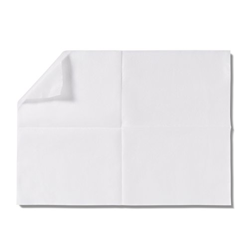 Medline Ultrasoft Disposable Dry Cleansing Cloth Wipe, 500 Count, Wipe Size 10 x 13 inches, Multi-purpose dry cloth for baby wipes, incontinence care, removing makeup, and cleaning surfaces