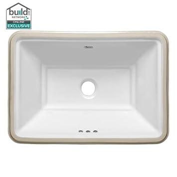 American Standard 0483 000 Estate 19 3 4 Quot Undermount Fireclay Bathroom Sink With