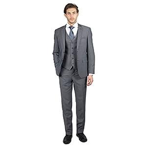 Alain Dupetit Men's Double Breasted Suit