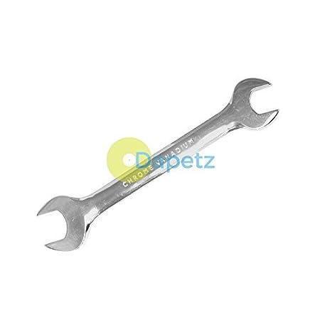 Dapetz /® Open Ended Spanner 25//28mm Combination Spanner Chrome Mechanics Workshop Tools
