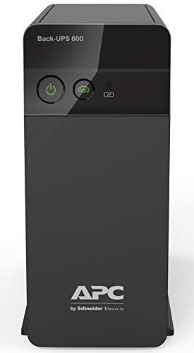 APC Back-UPS BX600C-IN 600VA / 360W, 230V, UPS System, an Ideal Power Backup & Protection for Home Office, Desktop PC…