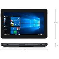 Dell Latitude 5179 FHD (1920x1080) 10.8 Inch Tablet (Intel Core M5-6Y57, 8GB Ram, 256GB Solid State SSD, Dual Camera, Mini HDMI, WIFI) Win 10 Pro (Certified Refurbished) SC Card Reader