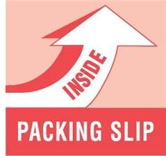 amazon com generic dl1180 packing slip inside labels 4 length x
