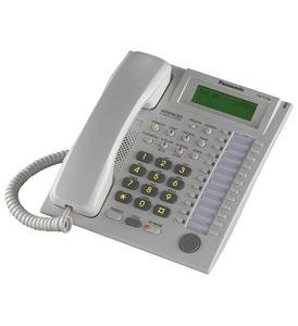 T7736 Kx Panasonic Corded Telephone (Panasonic KX-T7736 Phone White by Panasonic)