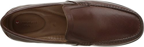Free Casual CLARKS Leather Loafer Mens Tan Dark Gala Un wIwqPxW7t