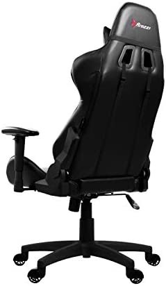 Arozzi Verona V2 Advanced Racing Style Gaming Chair with High Backrest, Recliner, Swivel, Tilt, Rocker and Seat Height Adjustment, Lumbar and Headrest Pillows Included, Black 31sSVG2FoiL