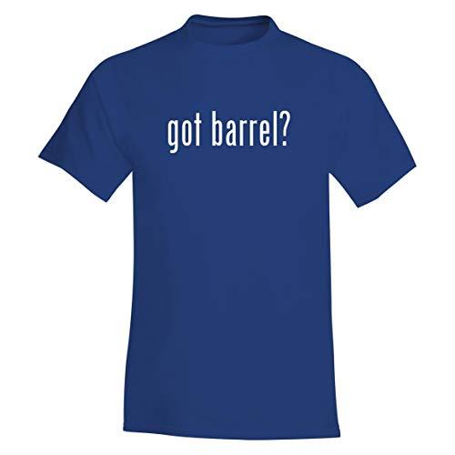 The Town Butler got Barrel? - A Soft & Comfortable Men's T-Shirt, Blue, X-Large (Best Slug Barrel For 870)