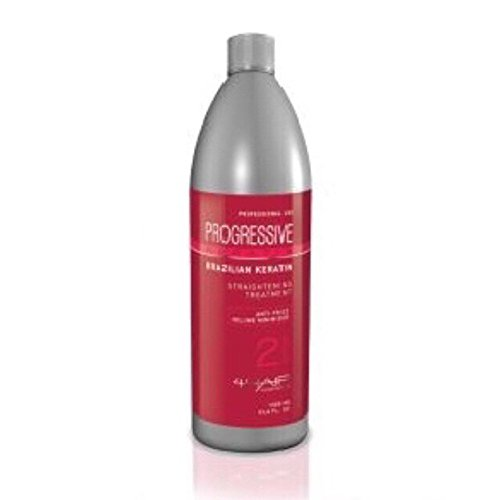 PROGRESSIVE KERATIN Straightening Anti-Frizz / Volume Minimizer Treatment 4 Hair Cosmetics / 16.5 fl.oz. - 500 mL Step 2 by Progressive Keratin