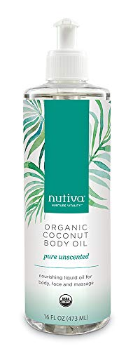Nutiva Organic Coconut Unscented 16 ounce product image