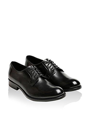 British Passport , Chaussures de ville à lacets pour homme noir noir