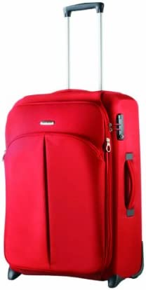 Samsonite Luggage Cordoba Duo Upright Suitcase, Red, 21-Inch