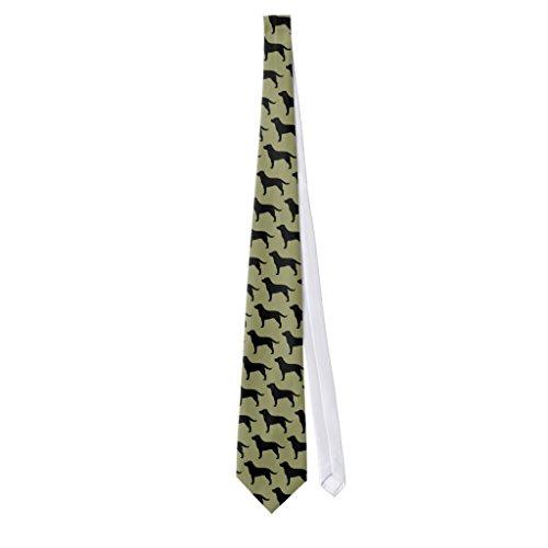 Zazzle Labrador Retrievers (black) Neck Tie (Labrador Tie Black)