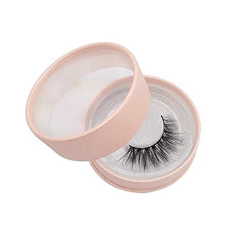 Kentop 1 Pares Pesta/ñas Postizas Naturales Eye Lash Extensi/ón Maquillaje de Moda con Hermoso Embalaje Size 1.5cm