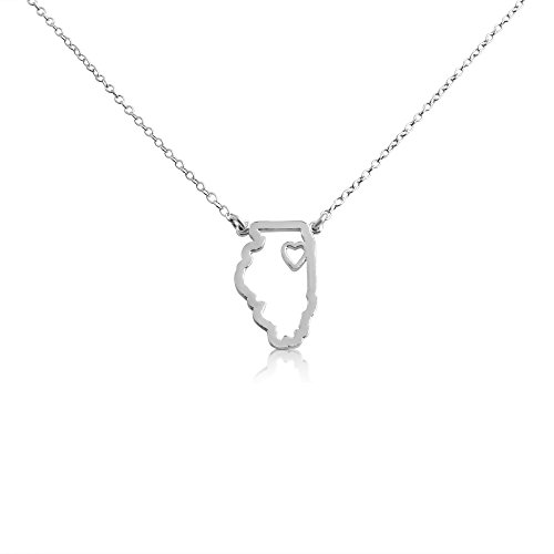 925-sterling-silver-small-illinois-home-is-where-the-heart-is-home-state-necklace-18-inches