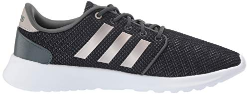 adidas Women's Cloudfoam QT Racer, Legend Ivy/Platino Metallic/Black, 5.5 M US by adidas (Image #6)
