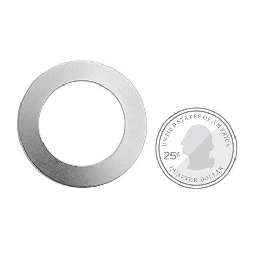 ImpressArt Washer 1 1/2'' Premium Metal Stamping Blanks, 24 Pieces, (Brass)