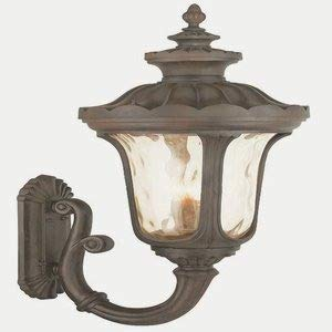 Livex Lighting 76701-58 Oxford 4 Light Outdoor Wall Lantern, Imperial Bronze