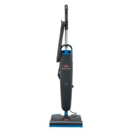 Bissell Steam and Sweep Hard Floor Steam Mop, Maneuverable swivel head Steams & Sweeps Hard Floors Includes 2 reusable mop pads