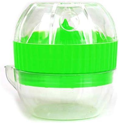 LbojailiAi Exprimidor Mini herramienta de cocina port¨¢til port¨¢til exprimidor de jugo de naranja exprimidor de lim¨®n exprimidor de cocina - color aleatorio
