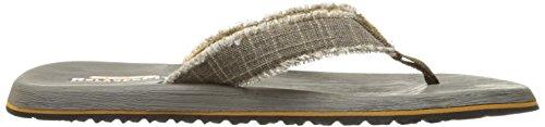 SKECHERS USA Fray Tanga de algodón marrón