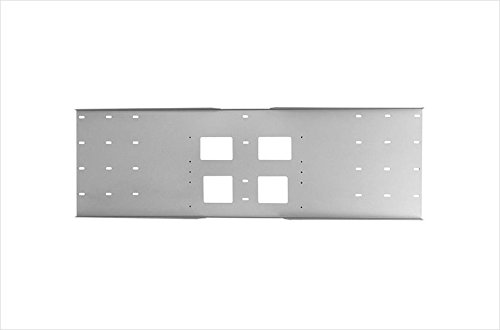 Metal Stud Wall Plate - Triple Stud (Plate Stud Series Wall Metal)