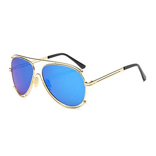 Aoligei Les lunettes de soleil de grand cadre Fashion Lady lunettes de soleil lunettes de soleil rétro européen et américain 3C5xS