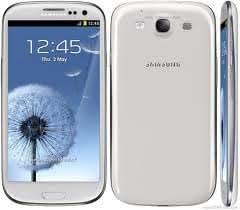 """Galaxy S III (I9300) (NO SAMSUNG) - Smartphone libre Android pantalla táctil capacitiva de 4,7"""" 720 x 1280, cámara 8mpx, S.O. Android 4.1.1) color blanco"""