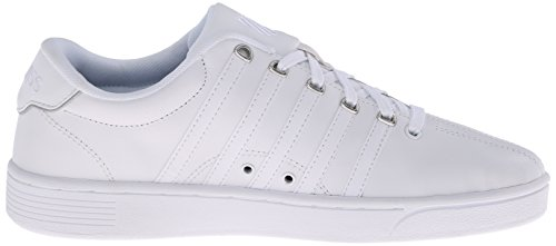II Swiss Women's Athletic White Pro Shoe Court K CMF Silver 5IUdqU
