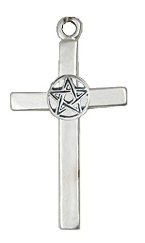 Sterling Silver Pentacross Pendant ()