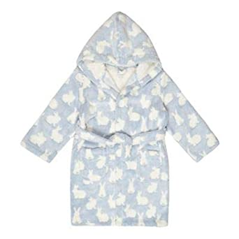 6b7307e88 bluezoo Kids Girls' Blue Bunny Dressing Gown: bluezoo: Amazon.co.uk:  Clothing