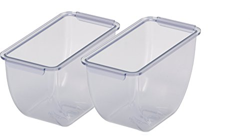 San Jamar BD102 1.5pt Dome Standard Chillable Tray (Pack of 6) by San Jamar (Image #2)