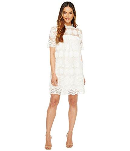 (CATHERINE CATHERINE MALANDRINO Women's Mona Dress, Bright White, M )