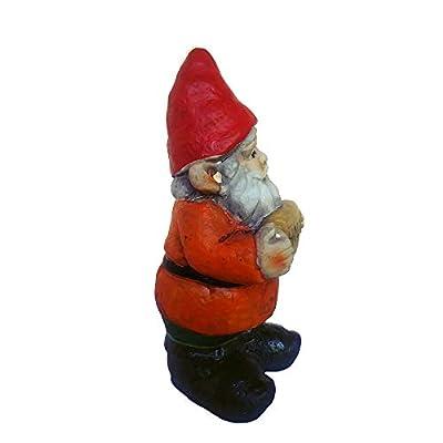 FunnyGnomes 6.5 Inch Hola Mexican Garden Gnome Cement Figure : Garden & Outdoor