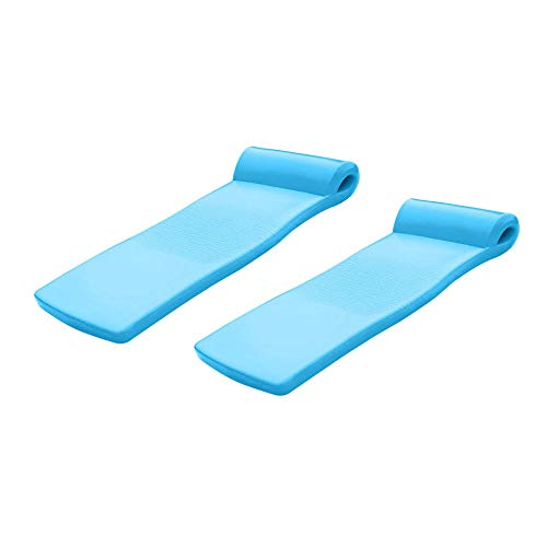 TRC Recreation Super Soft Ultra Sunsation Swimming Pool Float Water Lounger Raft (2 Pack)