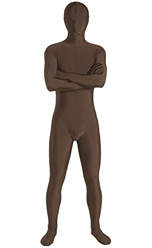 JustinCostume Adults Spandex Skin-tight Full Bodysuit Zentai Costume, M, (Spandex Bodysuit Costume Ideas)