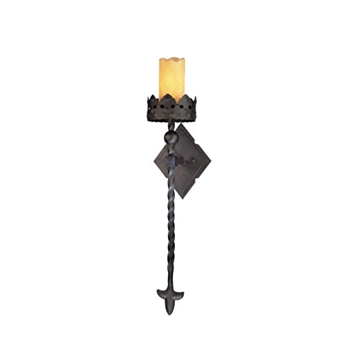 Chandelier Troy Metal (Troy Lighting Corsica 1-Light Wall Sconce - Corsican Bronze Finish with Natural Onyx Shade)