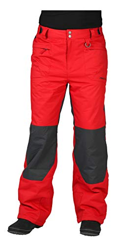 Vintage Mens Snowboard Boots - Arctix Men's Everglade Insulated Pants, Medium, Vintage Red