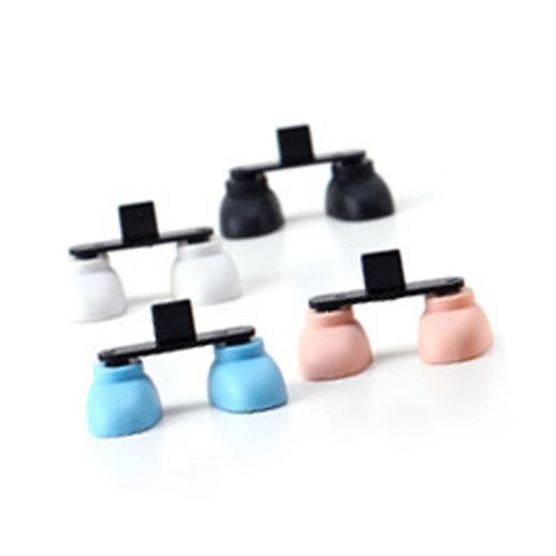 Random Usb Pour Poussière Chargeur Titulaire 2 5g D'emballage Du Foot Plug Huayang De Iphone Port Stand Forme Color Chaussure xHYqwCyAT