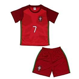 Générique Ensemble de Sport Maillot et Short du Portugal Enfant Taille 14 Ans
