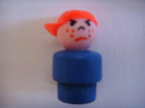 fisher price wooden people - 9