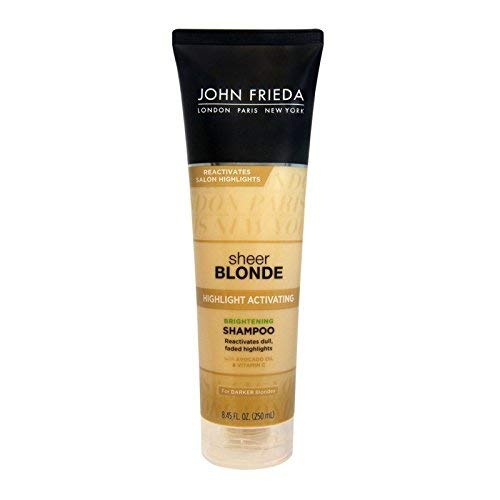 John Frieda sheer blonde Highlight Activating Enhancing Shampoo For Lighter Blondes 8.45 oz