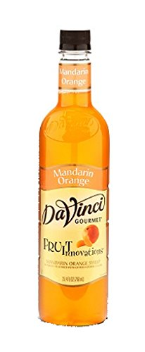 DaVinci Gourmet Fruit Innovations Syrup, Mandarin Orange, 25.4 Ounce Bottle