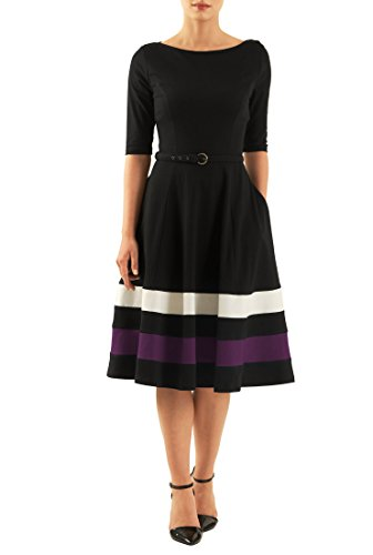 Buy belted cotton dress - 6