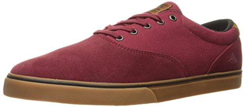 ZAPATOS EMERICA SLIM VULC BURGUNDY GUM