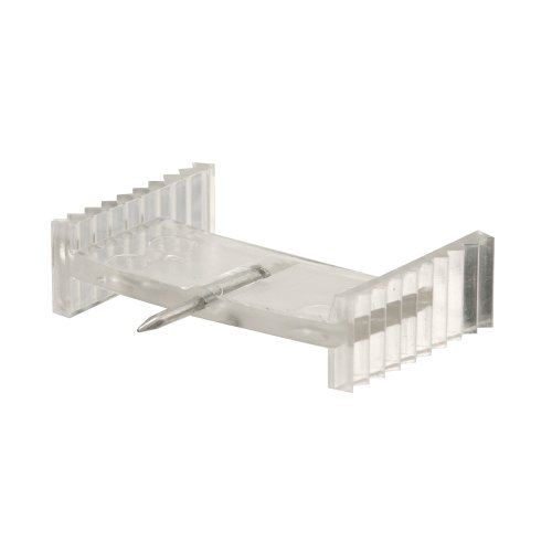 Slide-Co 183682 Window Grid Retainer, Clear Plastic,(Pack of 6)